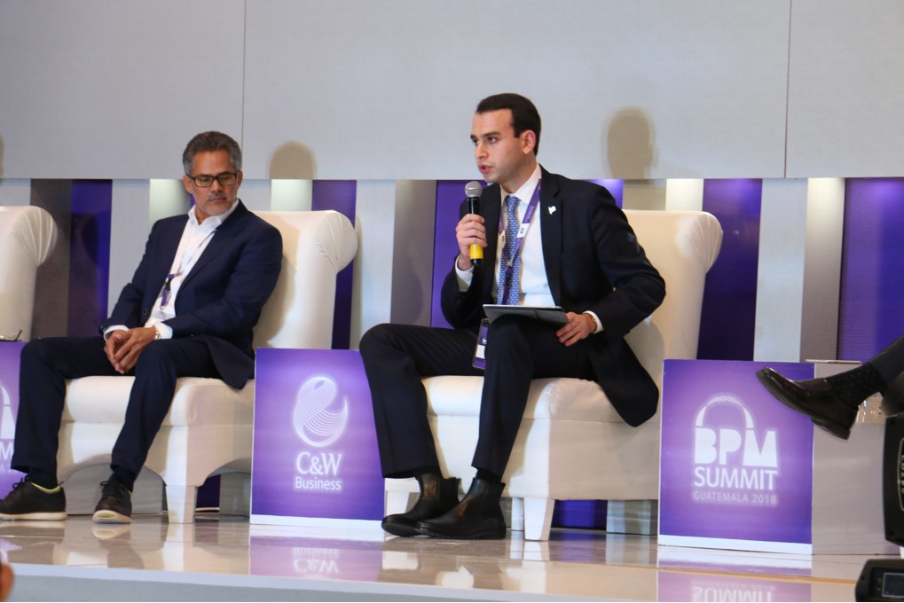 CBS PRESENTS ITS BUSINESS PROPOSITION AT BPM SUMMIT IN GUATEMALA